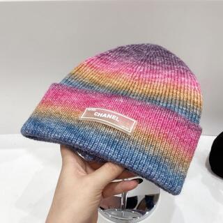 シャネル(CHANEL)のシャネル帽子(ニット帽/ビーニー)