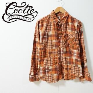 クーティー(COOTIE)のCOOTIE クーティ パッチワークチェックシャツ(シャツ)