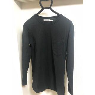 ノンネイティブ(nonnative)の19SS nonnative DWELLER L/S TEE 黒 サイズ0(Tシャツ/カットソー(七分/長袖))
