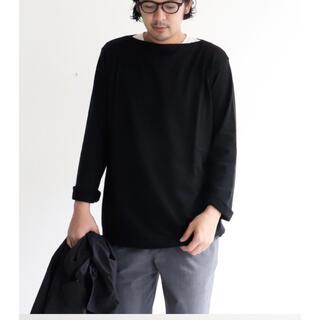 ヤエカ(YAECA)のYAECA STOCK バスクシャツ ロング 19AW サイズS(ニット/セーター)