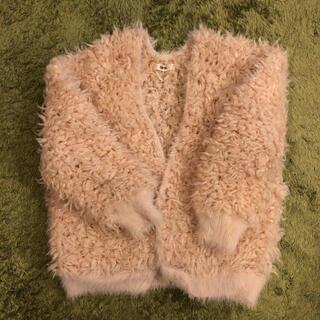 ファーファー(fur fur)のファーファー ニットカーディガン(カーディガン)
