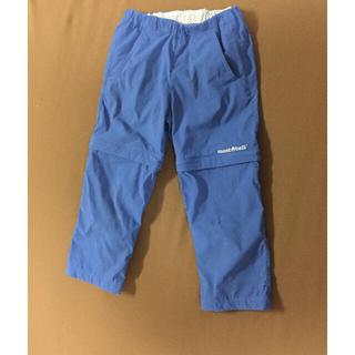 モンベル(mont bell)のモンベル コンバーチブルパンツ  110 ブルー 半ズボン&長ズボン(パンツ/スパッツ)