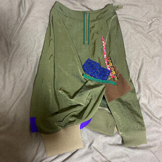 kolor(カラー):パッチワークスカート