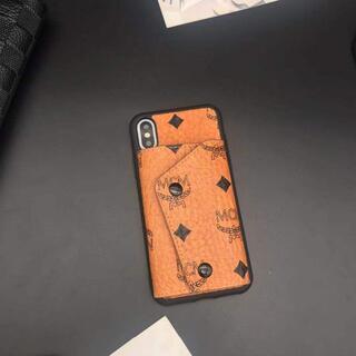 エムシーエム(MCM)の美品  MCM  iPhoneケース(財布)