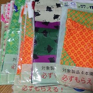 コカコーラ(コカ・コーラ)のTOKYO2020綾鷹和柄デザイン巾着袋6種類10枚(ノベルティグッズ)