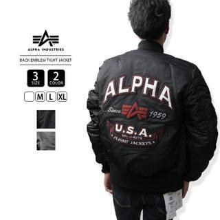 アルファ(alpha)のALPHA アルファ リバーシブル フライトジャケット(フライトジャケット)