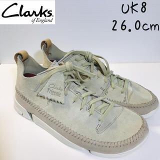 Clarks - clarks クラークス スニーカー Trigenic Flex 26.0 新品