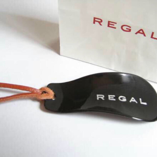 リーガル(REGAL)のリーガル靴べら(黒)新品未使用 送料無料 REGAL靴ベラ(その他)
