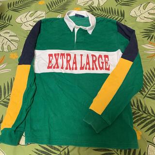 エクストララージ(XLARGE)のエクストララージ ラガーシャツ(ポロシャツ)
