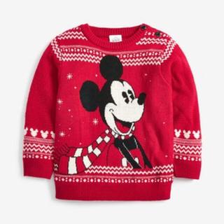 ディズニー(Disney)のディズニークリスマス ミッキー ニット(ニット)