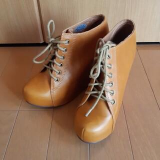 ジェフリーキャンベル(JEFFREY CAMPBELL)のジェフリーキャンベル 厚底パンプス ブーツ 厚底 ウェッジ ヒール(ブーツ)