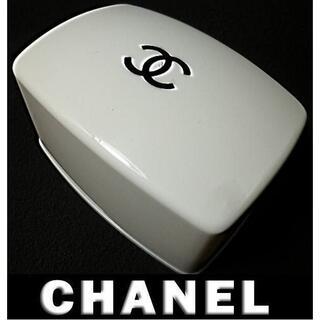 CHANEL - ★正規品★入手困難★激レア★b-1 シャネル ソープケース 石鹸箱 黒ロゴ