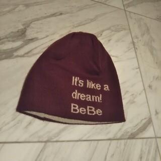 ベベ(BeBe)のBeBe ニット帽子(帽子)