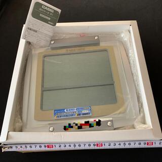 カシオ(CASIO)のカシオ ID-24J-8JF 電波時計 置時計掛時計 値下げ即買いNG(置時計)