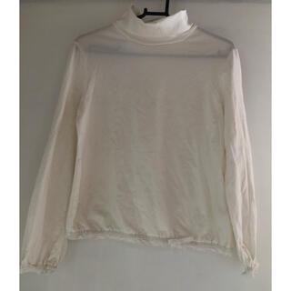 キャサリンコテージ(Catherine Cottage)のキャサリンコテージ タートルネック 長袖ロンT 白 150(Tシャツ/カットソー)