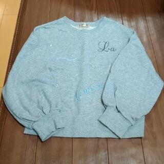 ポンポネット(pom ponette)のポンポネット流行り可愛いパフ袖トレーナー(Tシャツ/カットソー)