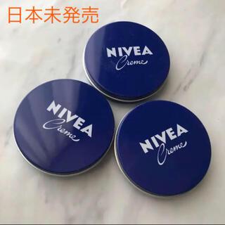 日本未発売 新品未使用 ニベア ミニサイズ  3個セット