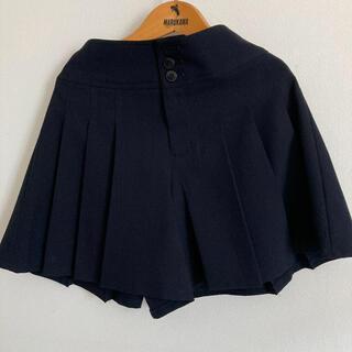 CHOPIN ショートパンツ キュロット 140 紺色(スカート)