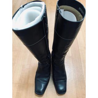 マドラス(madras)のマドラスモデーロ 黒 ロングブーツ(ブーツ)