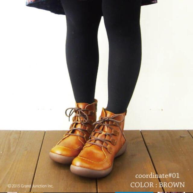 Regetta Canoe(リゲッタカヌー)のリゲッタカヌー ショートブーツ 本革 レディースの靴/シューズ(ブーツ)の商品写真