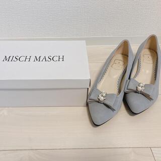 ミッシュマッシュ(MISCH MASCH)のミッシュマッシュビジューリボンパンプス(ハイヒール/パンプス)