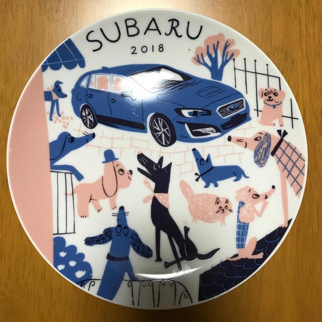 スバル(スバル)のストライクルージュ様専用★SUBARU食器プレート 自動車/バイクの自動車/バイク その他(その他)の商品写真