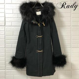 レディー(Rady)のレディー ファーコート ブラック(毛皮/ファーコート)