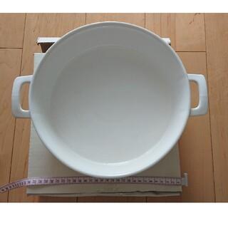 ダントン(DANTON)のダルトン DALTON 大皿 ラウンドパン オーブン使用OK(食器)