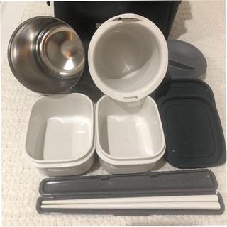 サーモス(THERMOS)のaki様専用 サーモス 保温弁当箱 約 0.8合 ブラック DBQ-361 BK(日用品/生活雑貨)