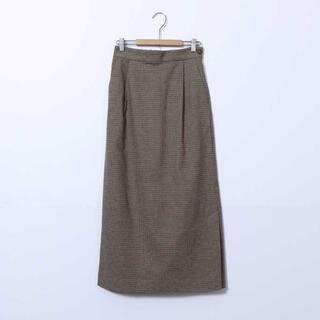 コーエン(coen)の起毛コットンロングタイトスカート(ロングスカート)