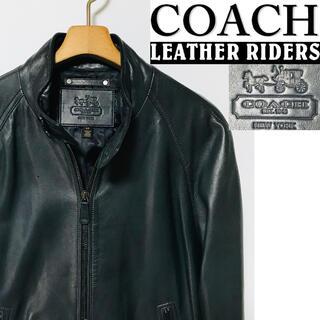 コーチ(COACH)の3030様専用!COACHラムレザー(羊革)シングルライダース・スウィングトップ(レザージャケット)