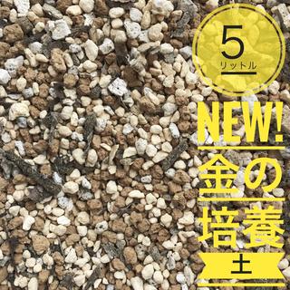 ご相談件数No.1を目指す!プロも愛用多肉 観葉植物5リットル 金の培養土(その他)