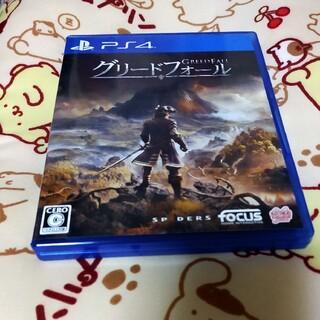 グリードフォール PS4 美品(家庭用ゲームソフト)