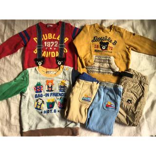 ダブルビー(DOUBLE.B)のりんりん様専用*ミキハウス ダブルビー mikihouse トレーナー ズボン(Tシャツ/カットソー)