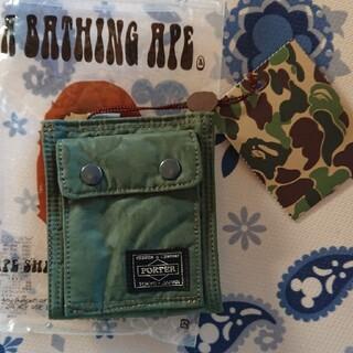 アベイシングエイプ(A BATHING APE)のA BATHING APEの財布(折り財布)