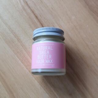 コスメキッチン(Cosme Kitchen)のNATURAL SHEA BUTTER ヘアワックス 桜の香り(ヘアワックス/ヘアクリーム)