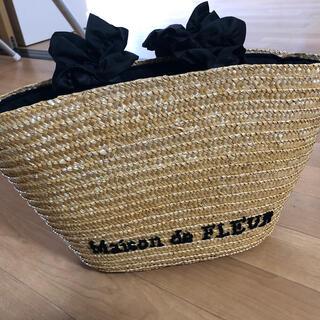 Maison de FLEUR - Maison de FLEUR フルール バック かご バスケット