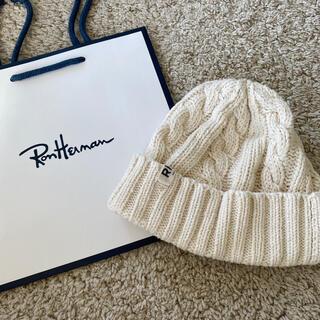 ロンハーマン(Ron Herman)のロンハーマン ニット帽 美品(ニット帽/ビーニー)