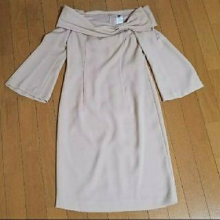 ダブルスタンダードクロージング(DOUBLE STANDARD CLOTHING)のダブルスタンダード オフショルダーワンピース(ひざ丈ワンピース)