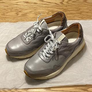 ステュディオス(STUDIOUS)の【EARLE】Hole cut sneakers L(スニーカー)