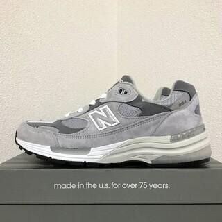 ニューバランス(New Balance)の27cm 国内正規品 New Balance M992GR US9D 新品(スニーカー)