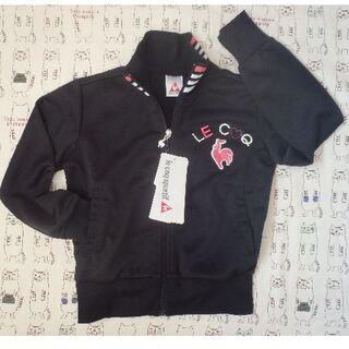 ルコックスポルティフ(le coq sportif)の【新品】120センチ ルコック ジャージ 黒(ジャケット/上着)