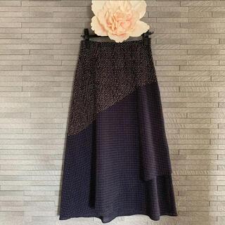 ルカ(LUCA)のLUCA/LADY LUCK LUCA ドット切替スカート(ロングスカート)
