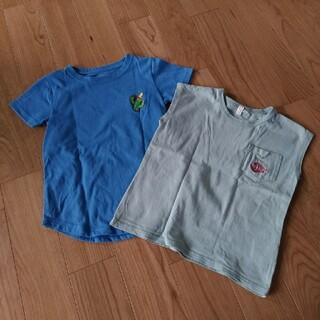サマンサモスモス(SM2)の120センチ Tシャツ ノースリーブ セット(Tシャツ/カットソー)