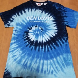 ベンデイビス(BEN DAVIS)のBENDAVISタイダイTシャツ(Tシャツ/カットソー(半袖/袖なし))
