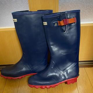 コロンビア(Columbia)のColumbia コロンビア レインブーツ 長靴 ネイビー×レッド 7 24(レインブーツ/長靴)
