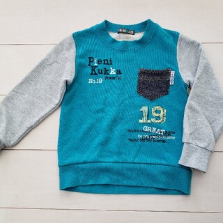 クッカ(kukkA)の男の子トレーナー 120(Tシャツ/カットソー)