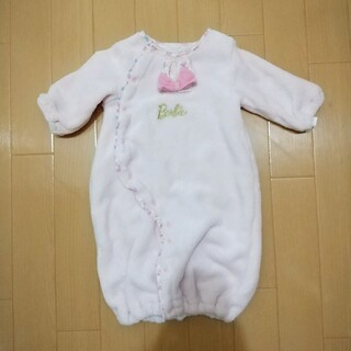 Barbie - Barbie★50-70 2wayオール ふわふわ 新生児