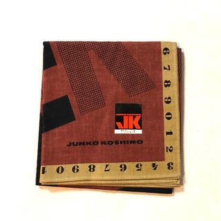 コシノジュンコ(JUNKO KOSHINO)の新品【JUNKO KOSHINO】ジュンコ コシノ 大判ハンカチ(ハンカチ)