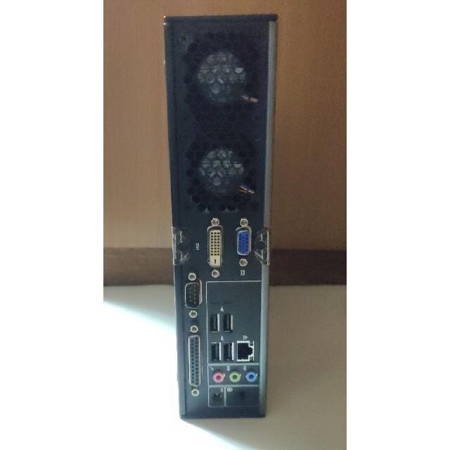 Acer(エイサー)のPC Windows10 acer veriton Core i7 2600S スマホ/家電/カメラのPC/タブレット(デスクトップ型PC)の商品写真